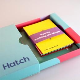 Hatch Print Sample Pack - Showing Inner Details