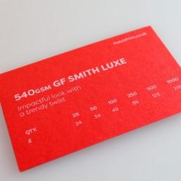 Hatch Print Sample Pack - Business Card