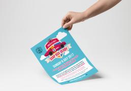 Hinckley Bid's Soap Box Derby Leaflet