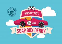 Hinckley Bid's Soap Box Derby Branding