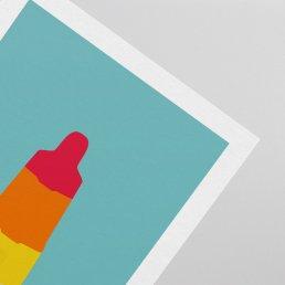 Rocket Lolly Postcard