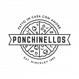 Ponchinellos Italian Takeaway Logo